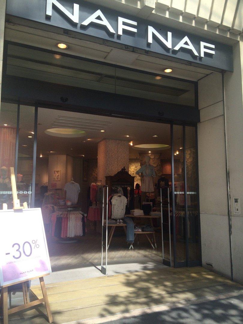 Foto vom 26. August 2016 12:38, Naf Naf, 10 Avenue des Ternes, 75017 Paris, Frankreich