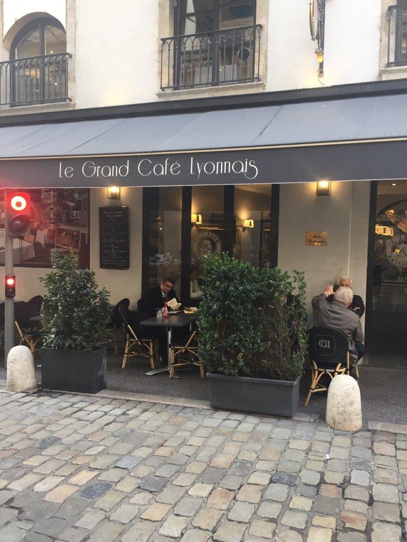 Foto vom 18. Oktober 2016 14:03, Le Grand Café Lyonnais, 4 Rue de la Barre, 69002 Lyon, Frankreich
