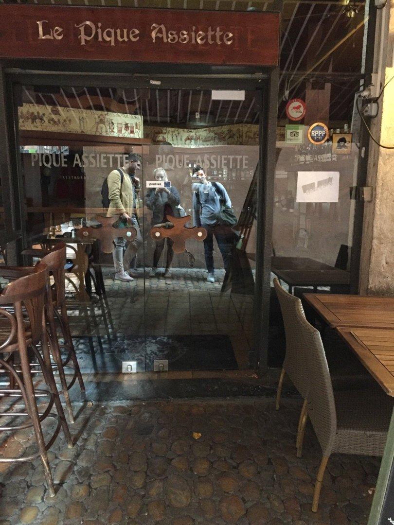 Foto del 18 de octubre de 2016 13:38, Le Pique Assiette, 4 Rue de la Baleine, 69005 Lyon, Francia