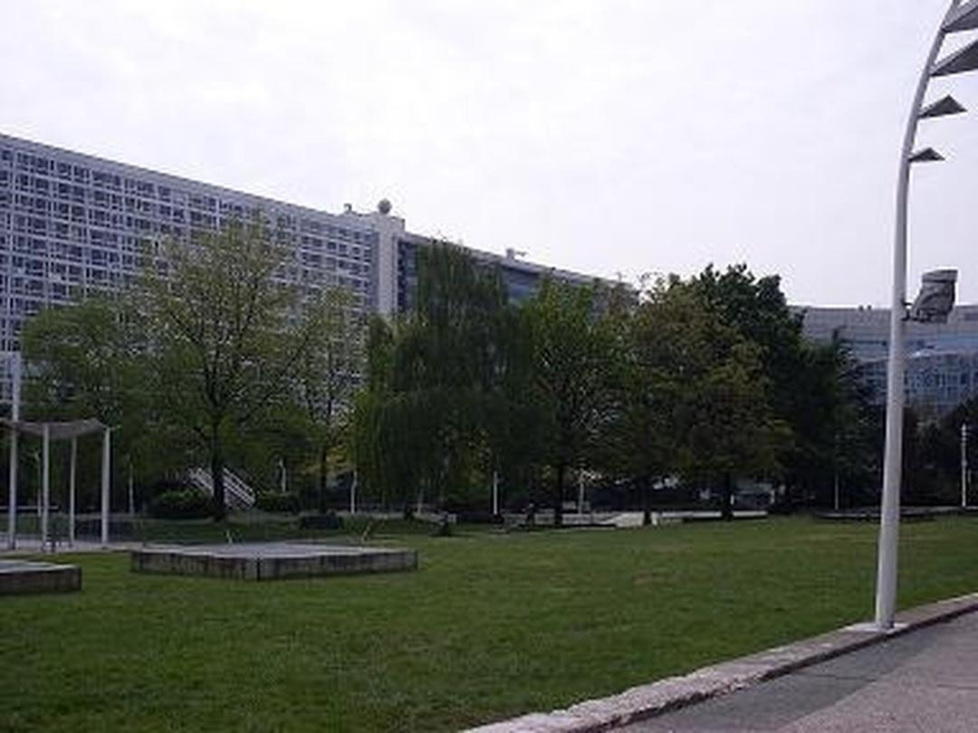 Park - Jardin Atlantique , Paris