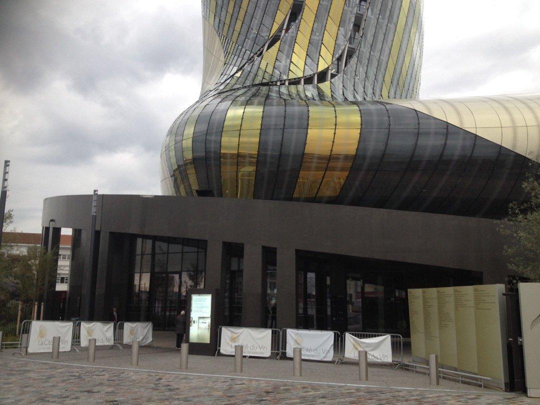 Photo du 17 octobre 2016 13:48, La Cité du Vin, 134 Quai de Bacalan, 33300 Bordeaux, France