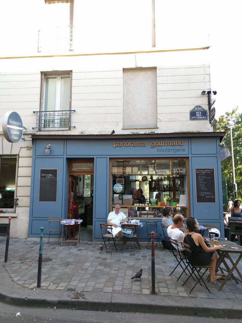 Photo of the July 19, 2016 4:56 PM, Le Panorama Gourmand Boulangerie, Paris-20E-Arrondissement, 1 Rue du Transvaal, 75020 Paris-20E-Arrondissement, France