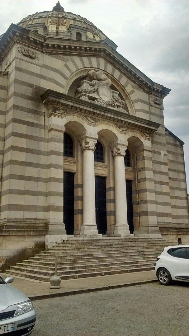 Foto del 20 de julio de 2016 11:01, Crematorium of Père Lachaise, 71 Rue des Rondeaux, 75020 Paris, Francia