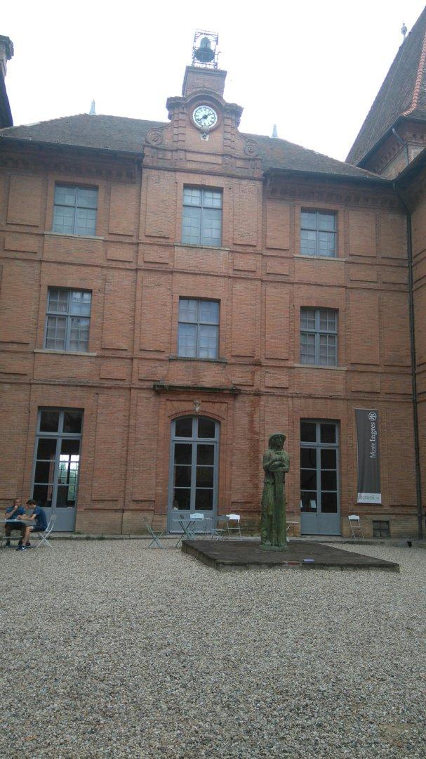 Foto vom 22. Juli 2016 20:37, Ingres Museum (closed for renovation until 2019), 19 Rue de l'Hôtel de ville, 82000 Montauban, Frankreich