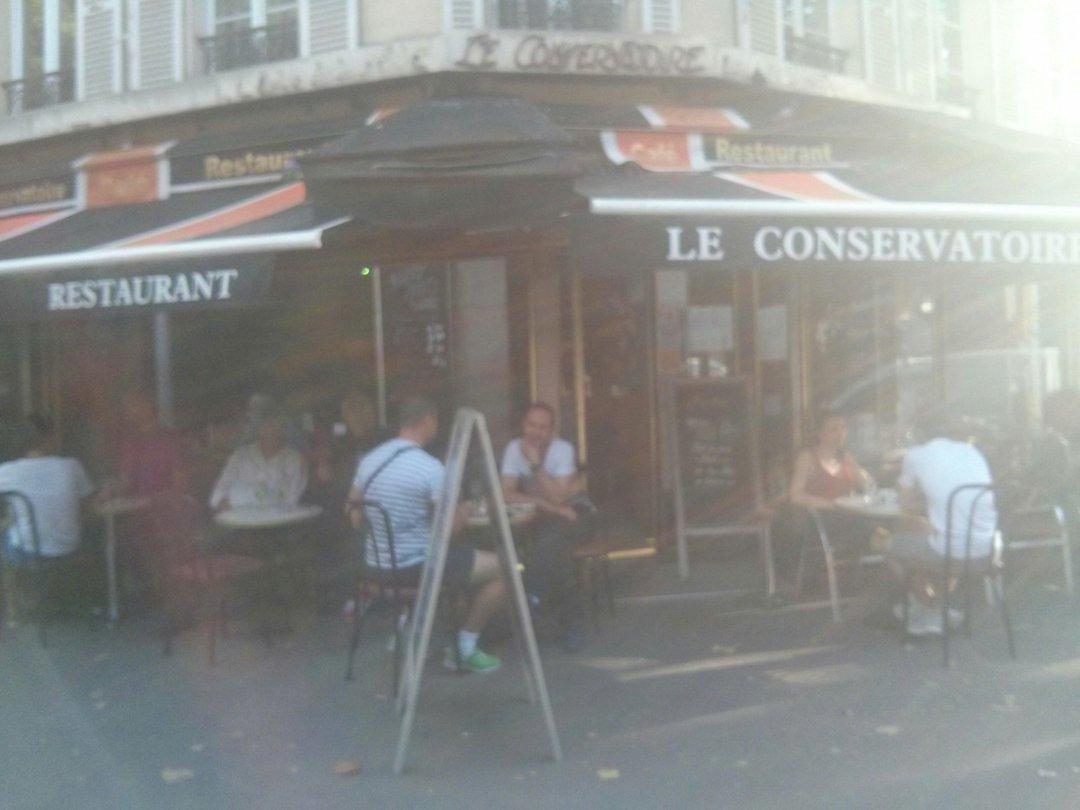 Foto del 25 de agosto de 2016 16:45, Le Conservatoire, 10 Avenue Jean Jaurès, 75019 Paris, Francia