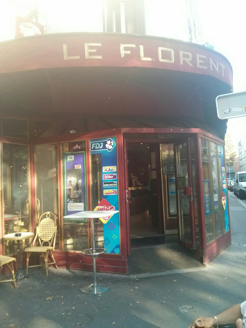 Photo of the August 25, 2016 4:55 PM, Le Florent, 40 Avenue Jean Jaurès, 75019 Paris, France
