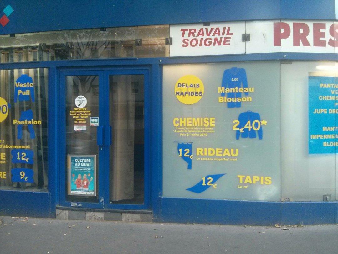 Foto vom 25. August 2016 17:32, Harmony Pressing, 62 Avenue Jean Jaurès, 75019 Paris, France