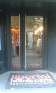 Photo of the August 25, 2016 5:51 PM, Hôtel Libertel Canal Saint-Martin, 5 Avenue Secrétan, 75019 Paris, France