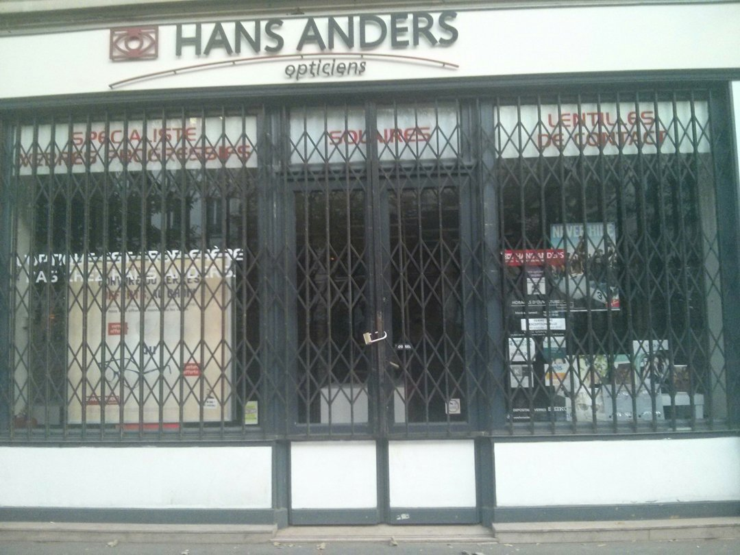 Foto vom 25. August 2016 18:04, Hans Anders Opticien Paris 19e, 84 Avenue Jean Jaurès, 75019 Paris 19ème, Frankreich