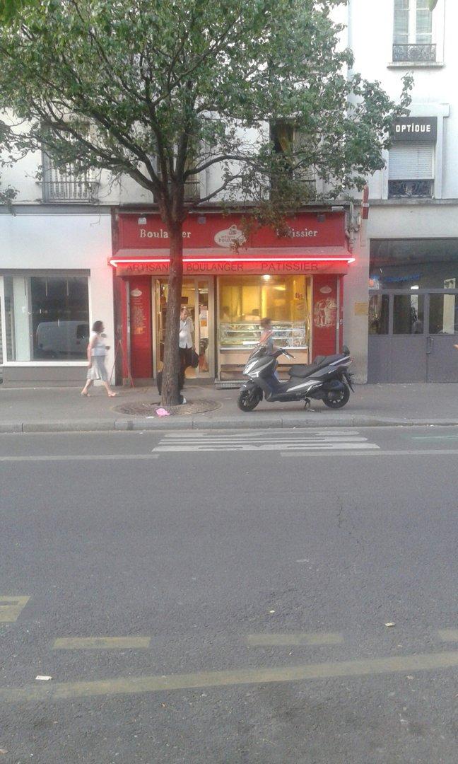 Photo of the August 25, 2016 6:18 PM, Au Pain Doré, 3 Avenue Secrétan, 75019 Paris, France