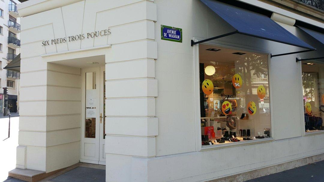 Photo du 26 août 2016 09:17, Six Pieds Trois Pouces MC WAGRAM, 78 Avenue de Wagram, 75017 Paris, France