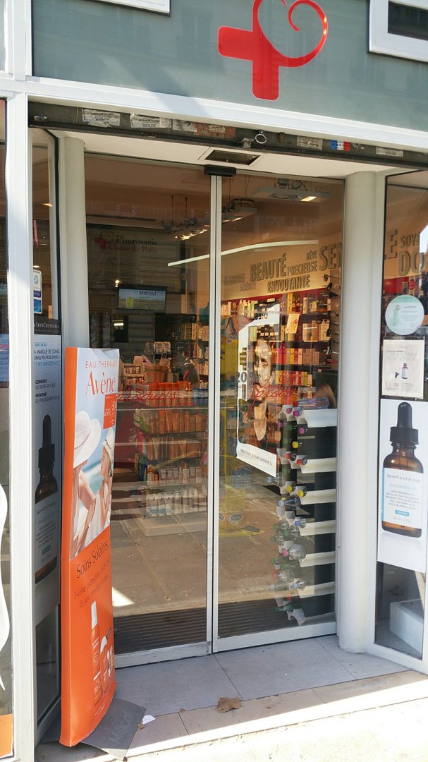 Foto vom 26. August 2016 09:19, Pharmacie Heart of Paris, 19 Rue Auber, 75009 Paris, Frankreich