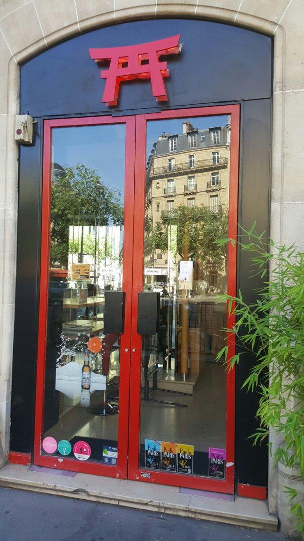 Photo of the August 26, 2016 9:34 AM, La Maison du Sushi, 103 Rue Jouffroy-d'Abbans, 75017 Paris, France