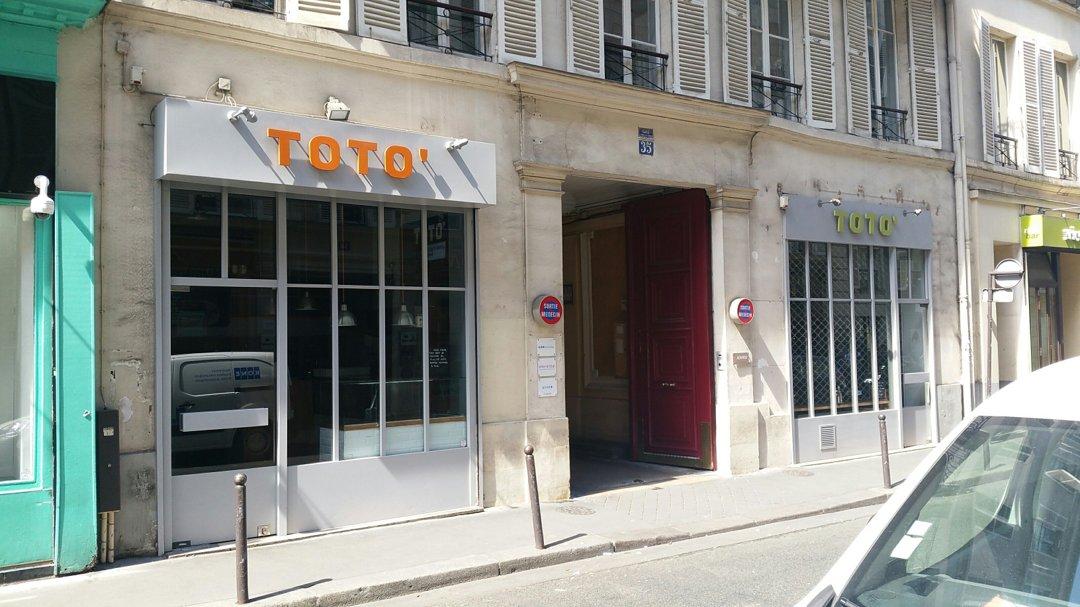 Foto vom 26. August 2016 12:02, TOTO', 35 Rue Godot de Mauroy, 75009 Paris, Frankreich