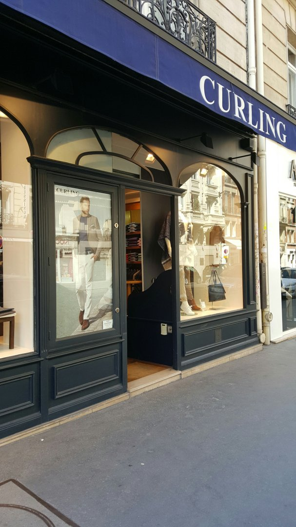 Photo du 26 août 2016 12:08, Boutique Curling Homme Femme - Paris 17ème, 91 Rue de Courcelles, 75017 Paris, France