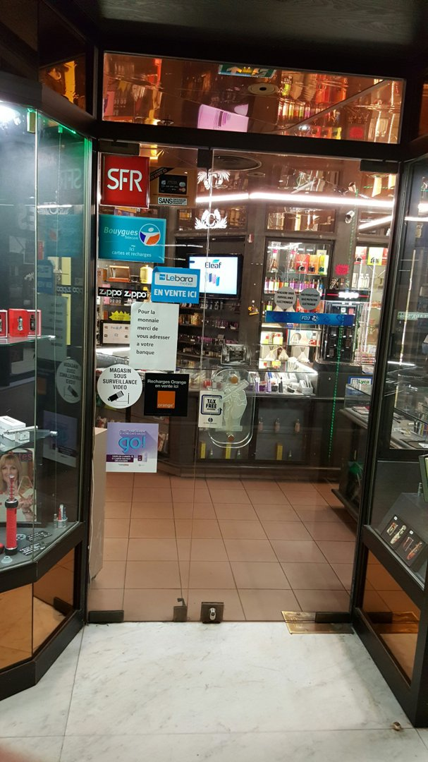 Foto vom 26. August 2016 12:11, Havana Stock tobacco, 3 Rue Baudin, 92400 Courbevoie, Frankreich