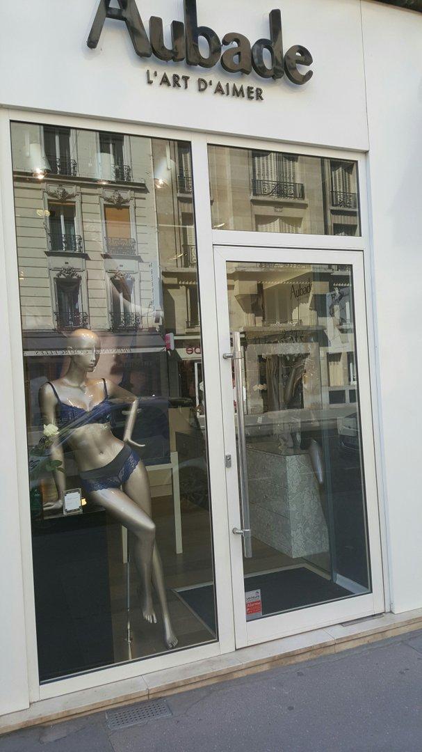 Foto vom 26. August 2016 12:12, Aubade L'Art d'Aimer, 93 Rue de Courcelles, 75017 Paris, Frankreich