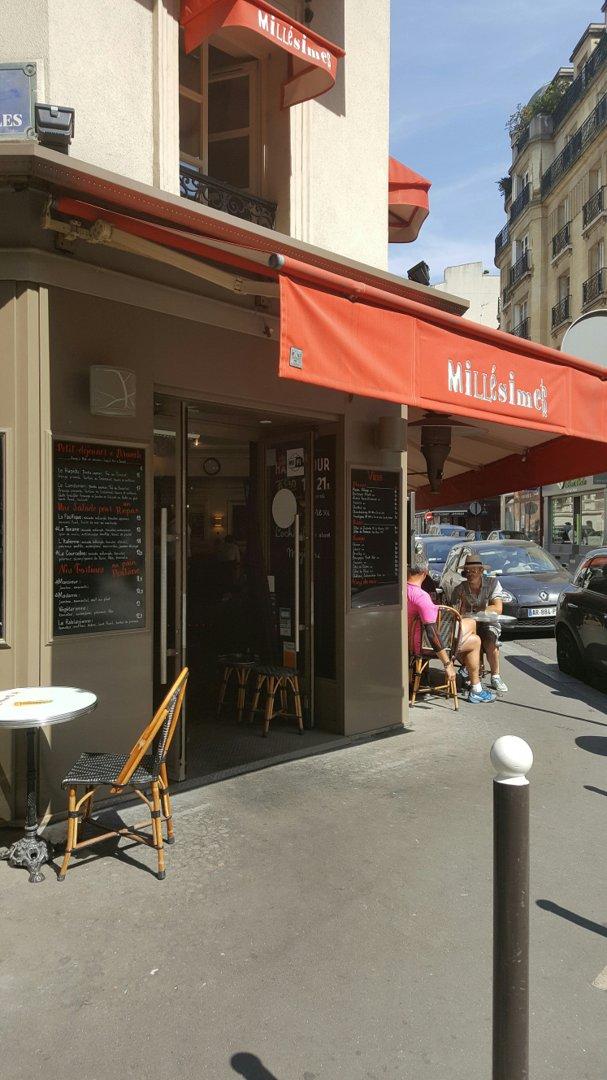 Foto del 26 de agosto de 2016 12:23, Le Millésimes, 110 Rue de Courcelles, 75017 Paris, Francia