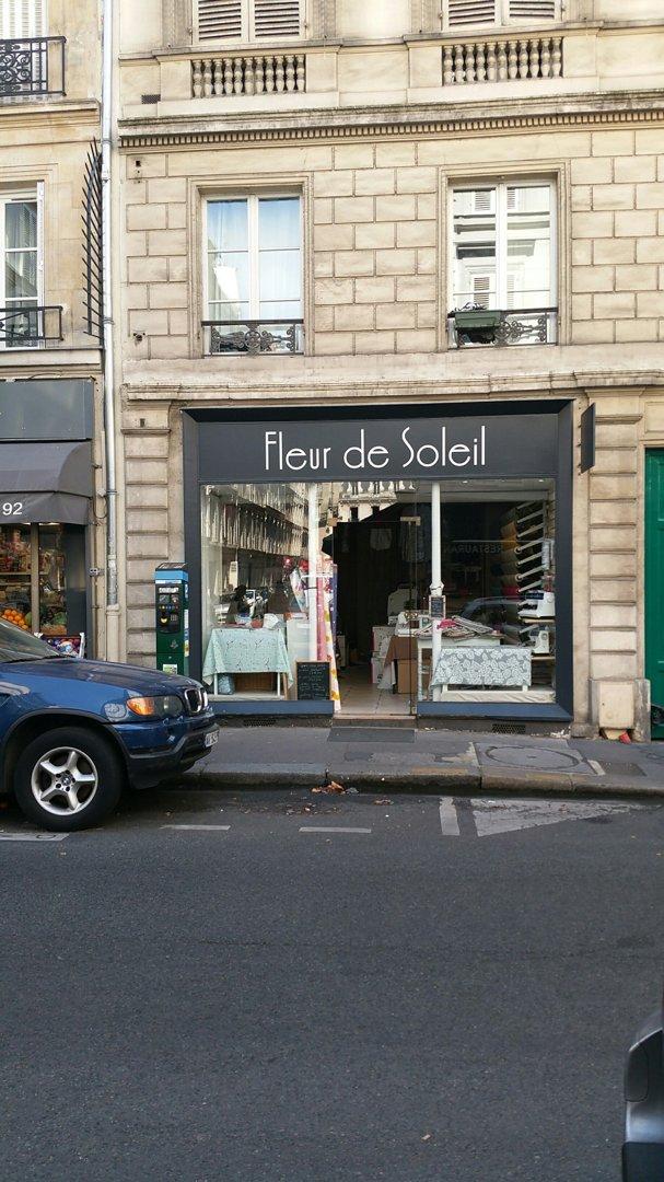 Store - Fleur de Soleil , Paris