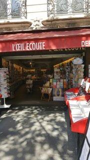 Foto del 28 de agosto de 2016 13:01, L'Œil Écoute, 77 Boulevard du Montparnasse, 75006 Paris, Francia