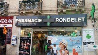 Foto del 3 de septiembre de 2016 16:39, Pharmacie Rondelet, 18 Place Saint-Denis, 34000 Montpellier, France