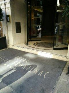 Foto vom 9. September 2016 09:31, Hôtel Château Frontenac, 54 Rue Pierre Charron, 75008 Paris, Frankreich