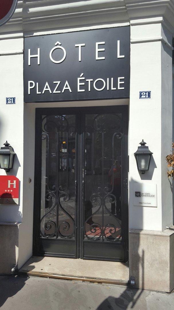 Foto vom 9. September 2016 12:32, Plaza Etoile, 21 Avenue de Wagram, 75017 Paris, Frankreich