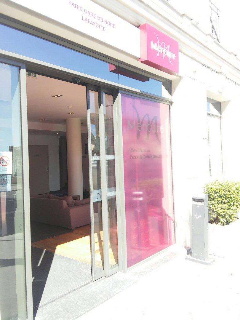 Foto del 9 de septiembre de 2016 12:50, Hotel Mercure Paris Gare du Nord La Fayette, 175 Rue la Fayette, 75010 Paris, Francia