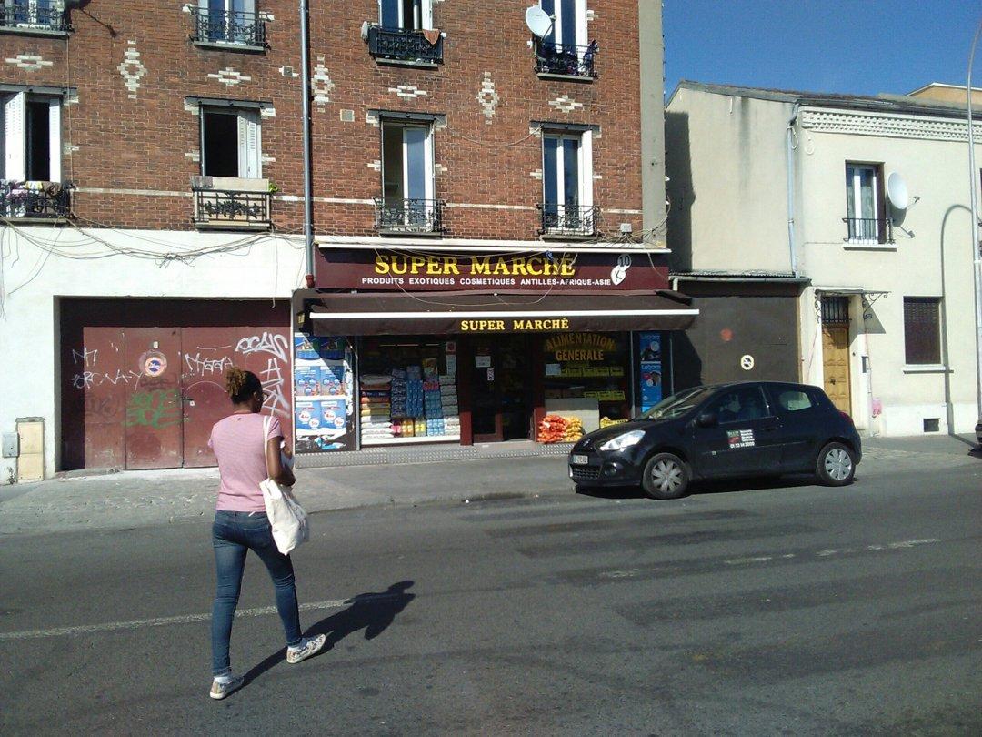 Photo du 13 septembre 2016 13:41, Supermarché K-10, 54 Rue du Landy, 93300 Aubervilliers, France