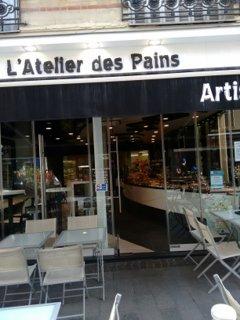 Foto del 26 de septiembre de 2016 12:27, L'Atelier des Pains & Co, 36 Rue Emile Zola, 92150 Suresnes, France