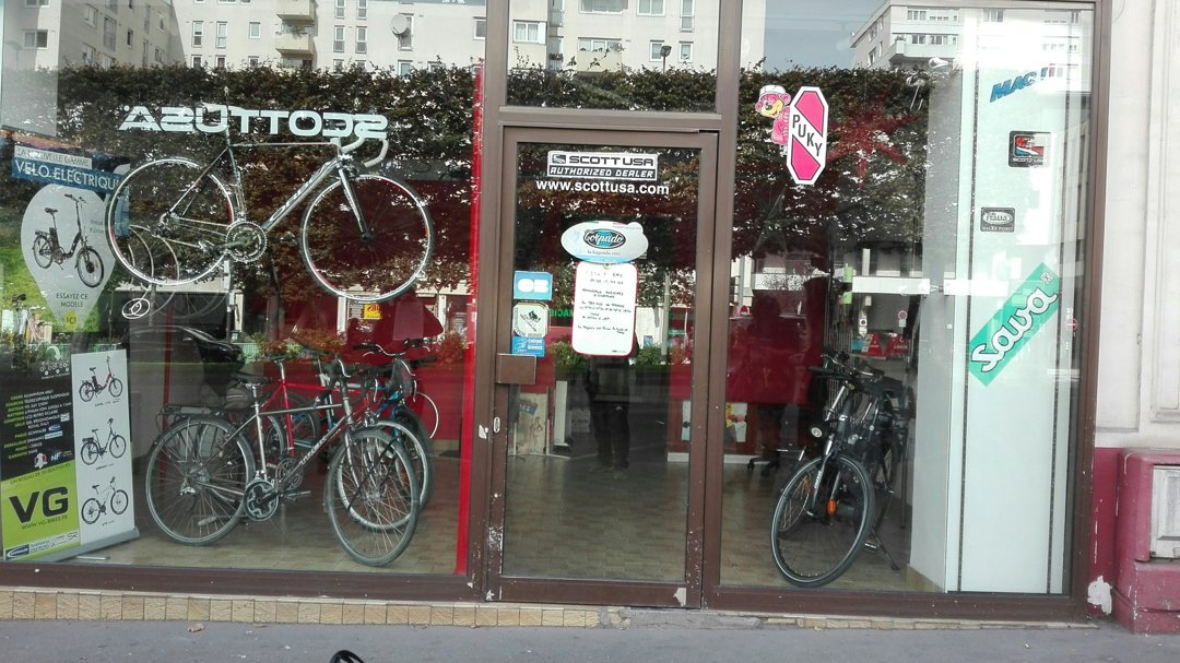 Foto vom 26. September 2016 12:27, Cycles Eric, 21 Boulevard Henri Sellier, 92150 Suresnes, Frankreich