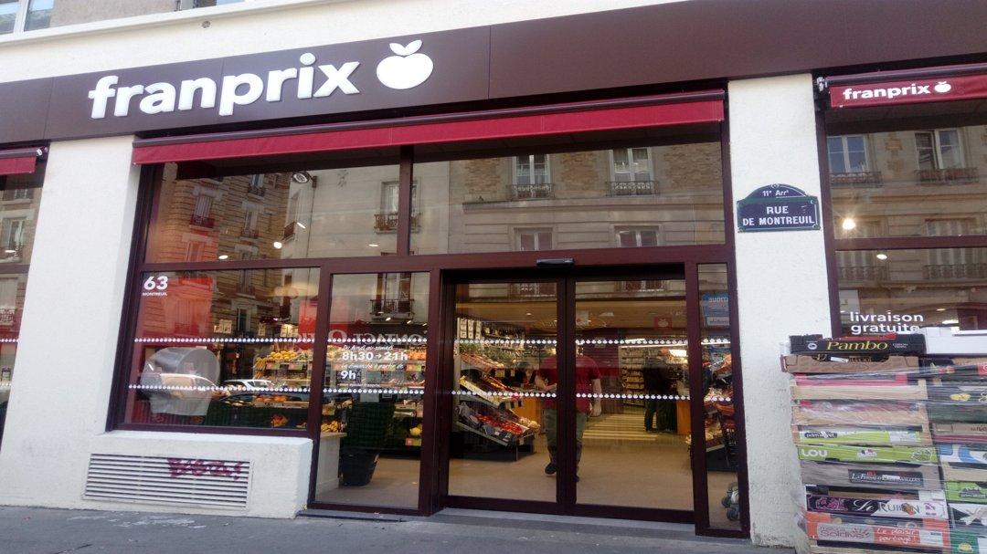 Supermarket - Franprix , Paris