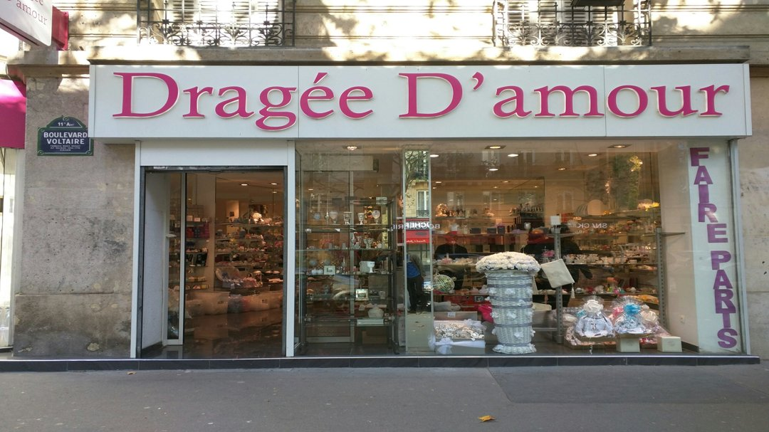 Photo of the October 6, 2016 1:24 PM, Dragée D'amour, 215 Boulevard Voltaire, 75011 Paris, France