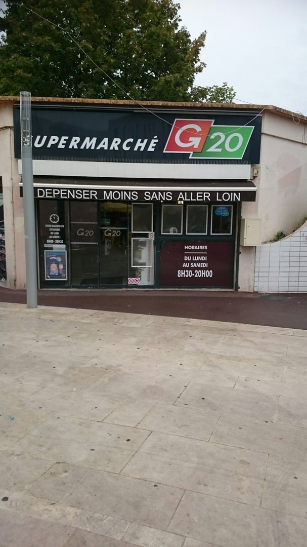 Photo of the October 13, 2016 2:00 PM, Supermarché G20, C.Cial La Levrière, 30 Avenue du Maréchal Lyautey, 94000 Créteil, France