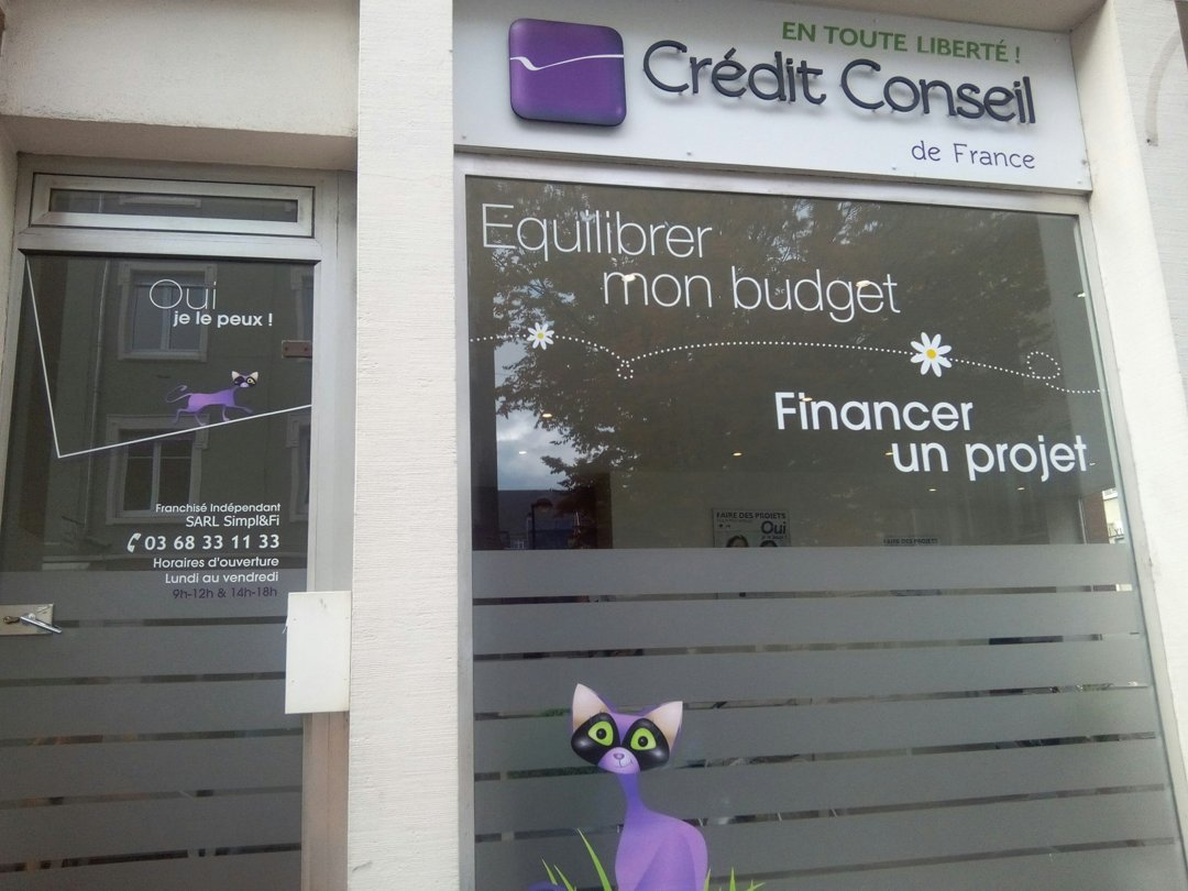 Foto del 18 de octubre de 2016 8:30, Crédit Conseil De France, 7b Rue Louis Pasteur, 68100 Mulhouse, Francia