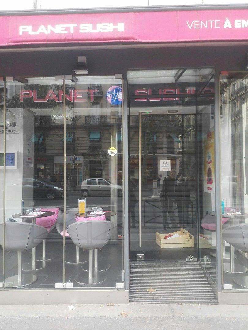 Photo of the October 18, 2016 8:42 AM, Planet Sushi, 100 Avenue du Général Leclerc, 75014 Paris, France