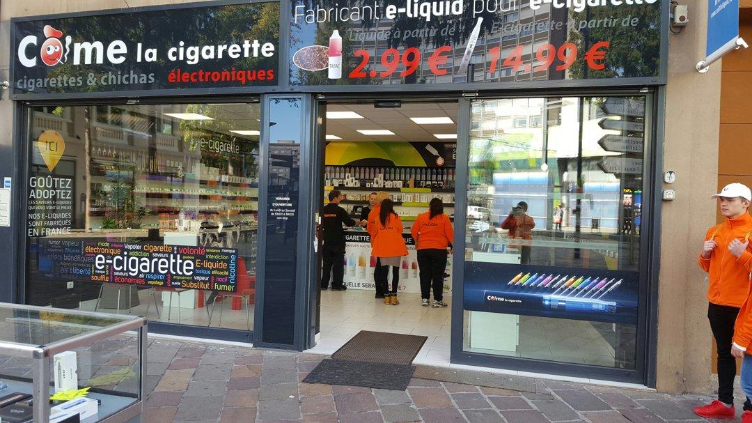 Photo du 18 octobre 2016 11:18, Côme la Cigarette, 23 Rue Louis Pasteur, 68100 Mulhouse, France