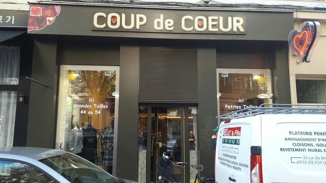 Foto del 18 de octubre de 2016 14:09, Boutique Coup de Cœur cours VITTON à Lyon, 72 Cours Vitton, 69006 Lyon, Francia