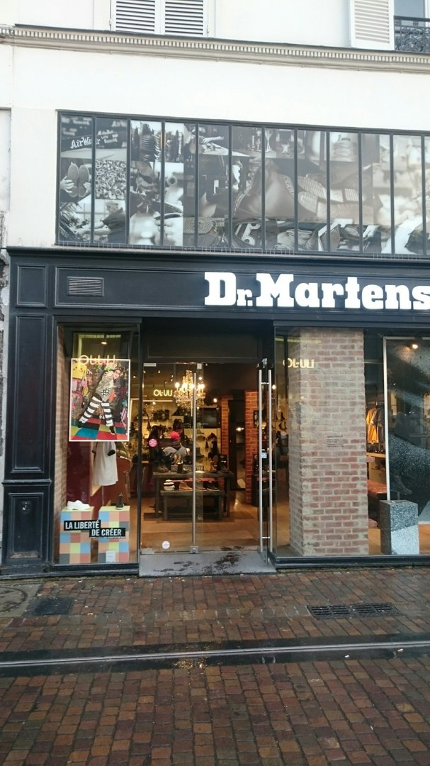 Photo of the October 19, 2016 4:25 PM, Dr. Martens, 12 Rue Pierre Lescot, 75001 Paris, France