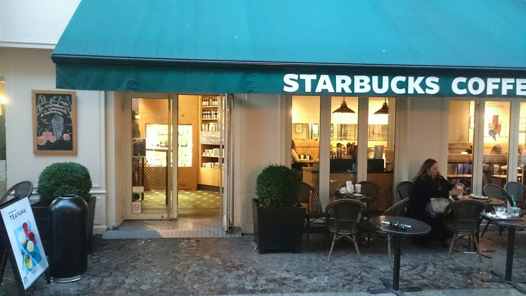 Foto vom 19. Oktober 2016 16:35, Starbucks Coffee, 77 Rue Rambuteau, 75001 Paris, Frankreich