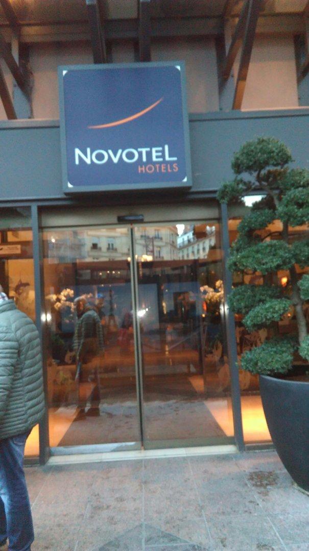 Foto del 19 de octubre de 2016 16:43, Hotel Novotel Paris les Halles, 8 Place Marguerite de Navarre, 75001 Paris, Francia
