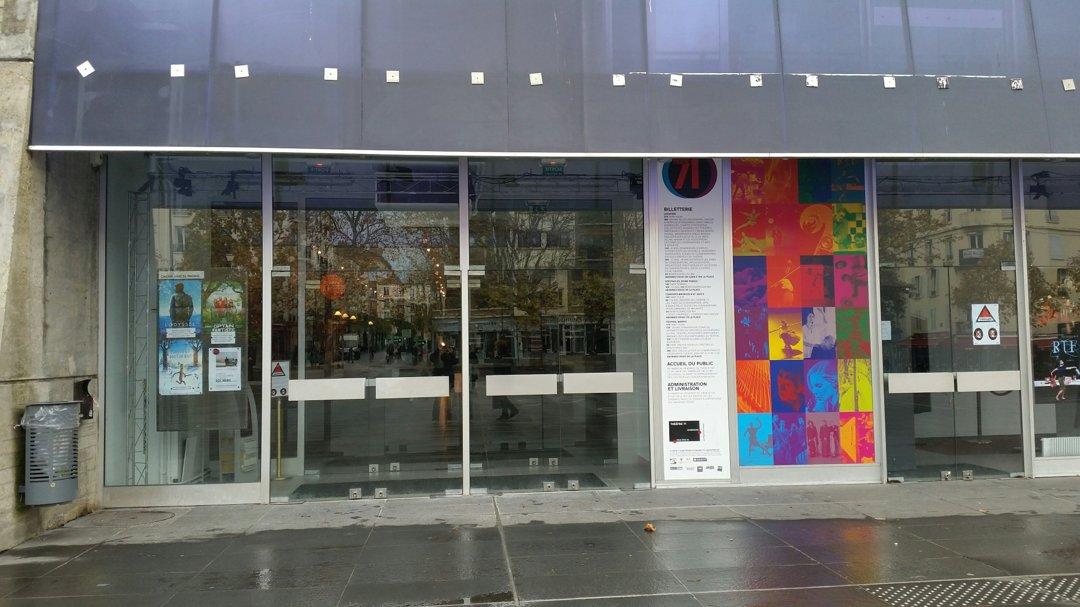 Foto del 15 de noviembre de 2016 10:55, Théâtre 71, 3 Place du 11 Novembre, 92240 Malakoff, France