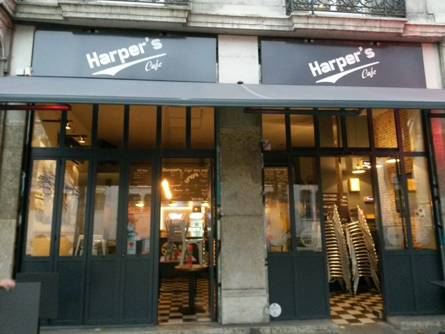 Harpers Caf Grenoble Detailed accessibility Jaccede