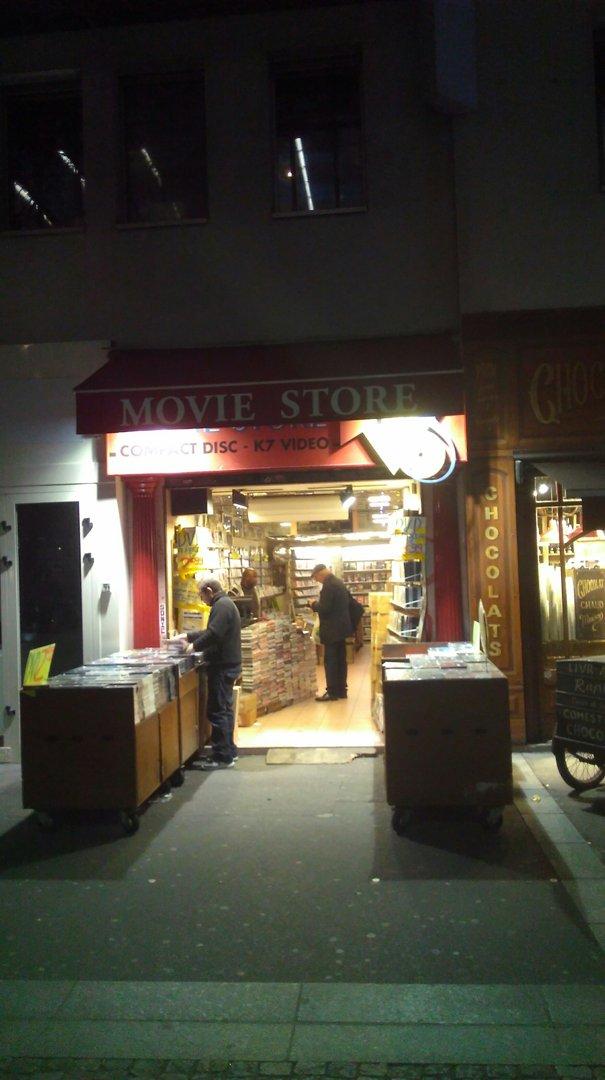 Foto vom 22. November 2016 21:48, Movie Store, 42 Rue Rambuteau, 75003 Paris, Frankreich