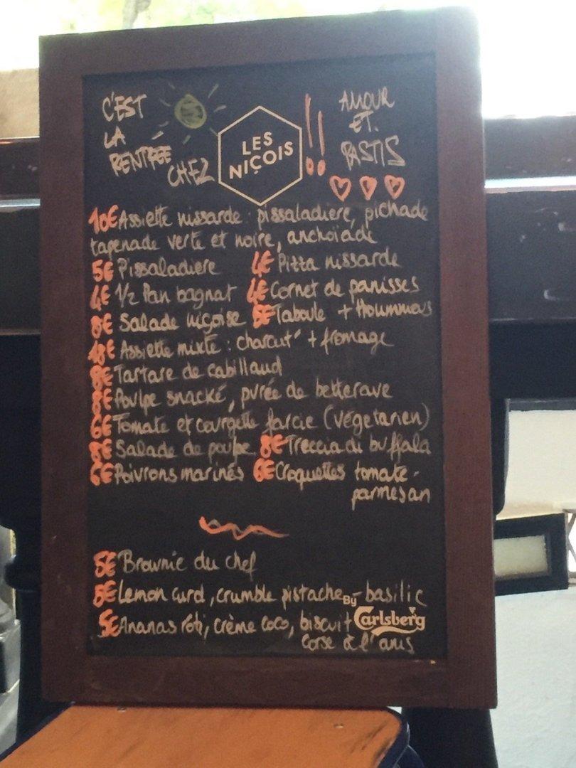Foto del 25 de agosto de 2016 17:18, Les Niçois, 7 Rue Lacharrière, 75011 Paris, Francia