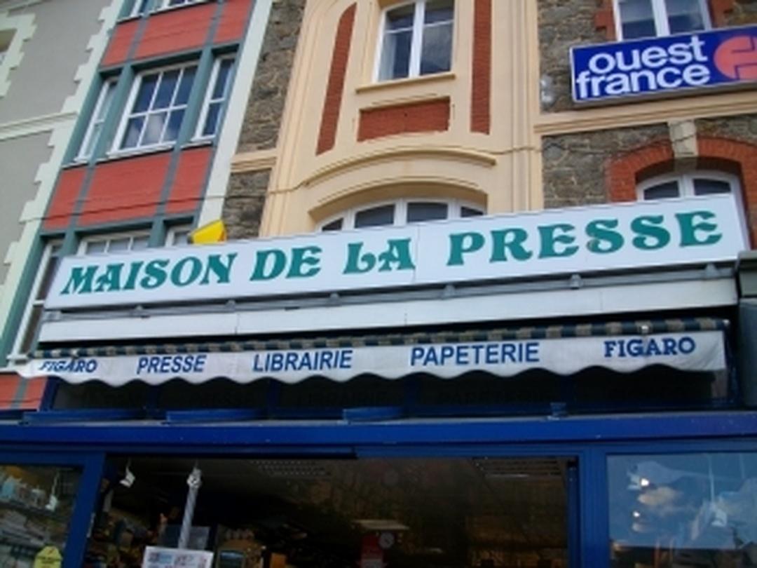 Bookseller's - Maison de la Presse , Dinard