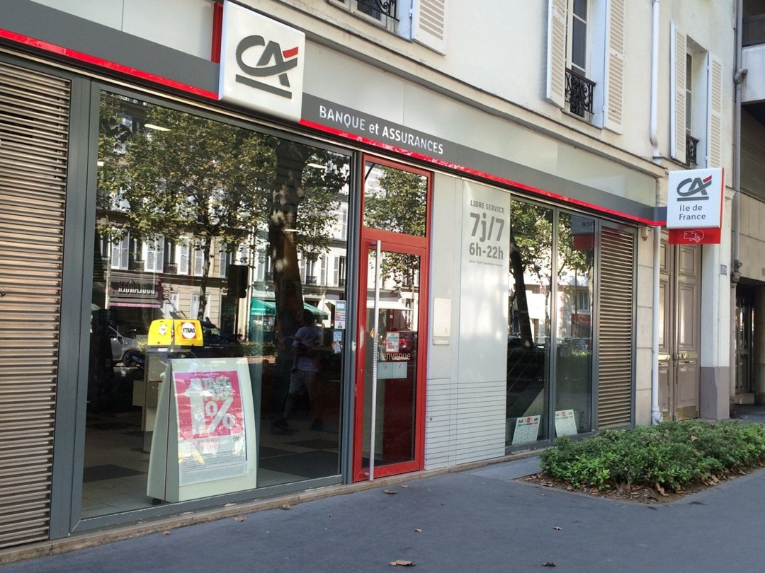 Foto del 26 de agosto de 2016 9:44, Agence Crédit Agricole d'Ile-de-France, 179 Avenue Achille Peretti, 92200 Neuilly-sur-Seine, Francia