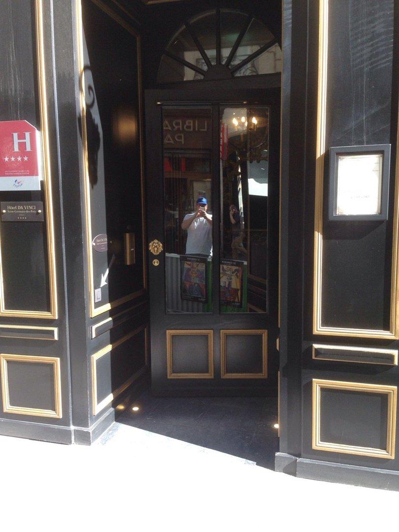 Foto vom 9. September 2016 14:01, Hôtel Da Vinci & Spa, 25 Rue des Saints-Pères, 75006 Paris, Frankreich