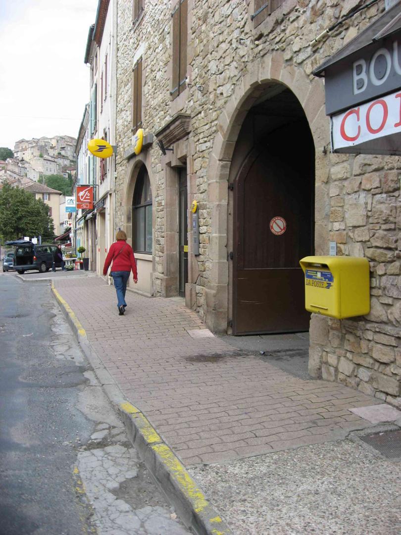 Photo du 5 février 2016 18:55, Bureau de Poste de CORDES SUR CIEL, 4 Avenue du 11 Novembre 1918, 81170 Cordes-sur-Ciel, France