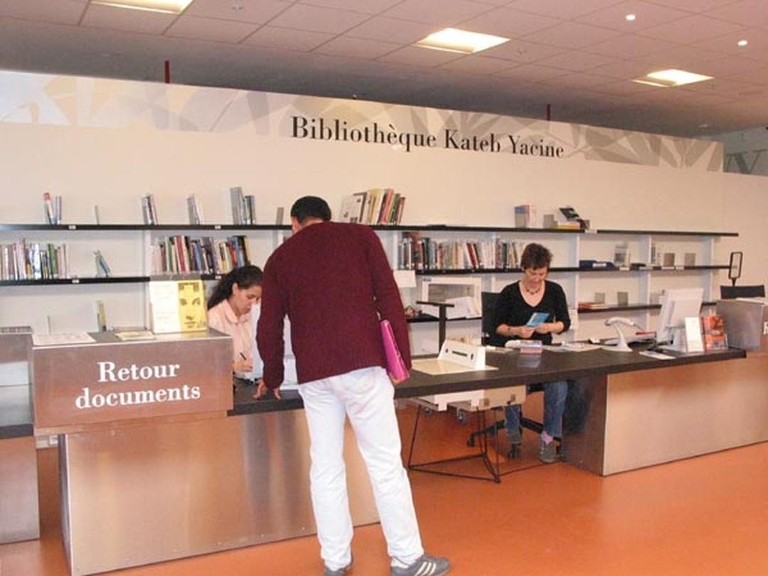 Bibliothèque - Bibliothèque Kateb Yacine , Grenoble